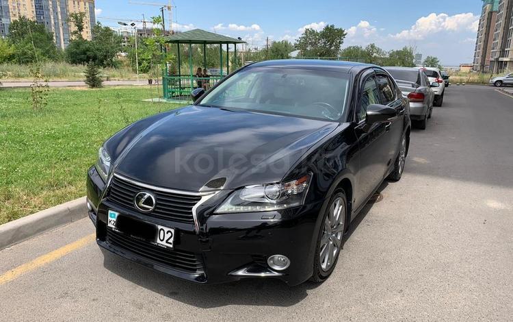Lexus GS 350 2013 года за 10 800 000 тг. в Алматы