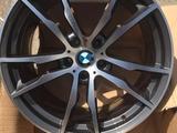 BMW X5 - Диски R20 M-Style 333, модель 2014 г., с резиной и без. Пере за 280 000 тг. в Алматы – фото 5