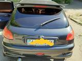 Peugeot 206 2002 года за 1 300 000 тг. в Усть-Каменогорск – фото 5