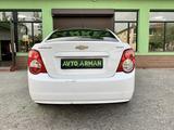 Chevrolet Aveo 2014 года за 3 700 000 тг. в Шымкент – фото 3