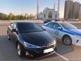 Hyundai Elantra 2019 года за 7 200 000 тг. в Нур-Султан (Астана)