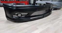 Передний бампер S-Tuning w202 Mercedes Benz за 45 000 тг. в Алматы – фото 5
