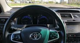 Toyota Camry 2015 года за 10 800 000 тг. в Нур-Султан (Астана) – фото 4