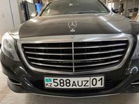 Защитку переднию на Mercedes benz w 222 дорестайлинг за 50 000 тг. в Алматы