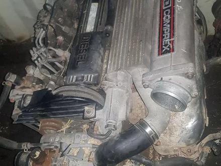 Мазда 626, Двигатель, каропка, с навесным, Мазда 626 Турбо Компрессор за 1 234 тг. в Алматы – фото 3