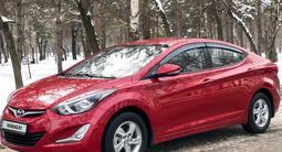 Hyundai Elantra 2014 года за 6 250 000 тг. в Алматы – фото 2