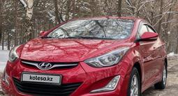 Hyundai Elantra 2014 года за 6 250 000 тг. в Алматы – фото 4