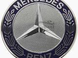 Эмблема на капот в виде заглушки Mercedes Benz Мерседес Бенц за 5 000 тг. в Атырау