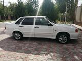 ВАЗ (Lada) 2115 (седан) 2012 года за 2 000 000 тг. в Тараз – фото 4