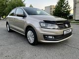 Volkswagen Polo 2017 года за 5 400 000 тг. в Алматы – фото 3