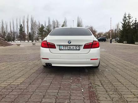 BMW 523 2010 года за 7 300 000 тг. в Нур-Султан (Астана) – фото 4