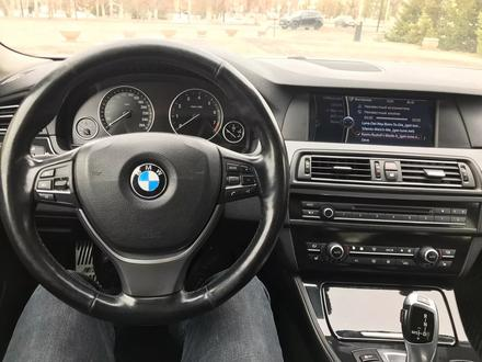 BMW 523 2010 года за 7 300 000 тг. в Нур-Султан (Астана) – фото 6