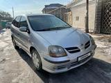 Nissan Almera Tino 2001 года за 3 500 000 тг. в Алматы