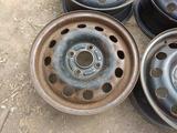Оригинальные металлические диски на Ford (R14 4*108 ЦО63.4 5.5J за 20 000 тг. в Нур-Султан (Астана) – фото 3