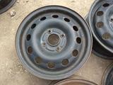 Оригинальные металлические диски на Ford (R14 4*108 ЦО63.4 5.5J за 20 000 тг. в Нур-Султан (Астана) – фото 4