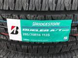 265/70/16 — Bridgestone Dueler AT001 за 53 000 тг. в Алматы – фото 3