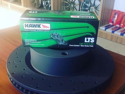 Комплект Перед. Тормозные диски HAWK + колодки HAWK LTS за 250 000 тг. в Алматы – фото 3