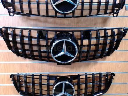 Решетка радиатора Mercedes-Benz GLE W 166 за 55 000 тг. в Нур-Султан (Астана) – фото 4