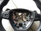 Оригинальный руль с Airbag BMW m5 f10 с подогревом за 420 000 тг. в Алматы – фото 3