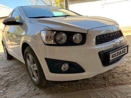 Chevrolet Aveo 2013 года за 3 500 000 тг. в Шымкент – фото 6