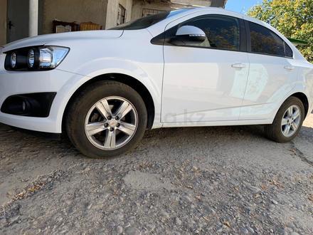 Chevrolet Aveo 2013 года за 3 500 000 тг. в Шымкент – фото 7