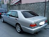 Mercedes-Benz S 600 1998 года за 5 500 000 тг. в Алматы – фото 2
