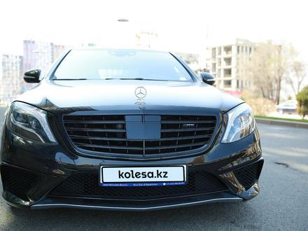 Mercedes-Benz S 63 AMG 2014 года за 29 500 000 тг. в Алматы – фото 2