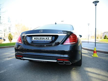 Mercedes-Benz S 63 AMG 2014 года за 29 500 000 тг. в Алматы – фото 3