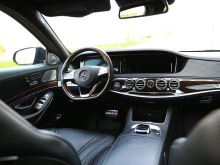Mercedes-Benz S 63 AMG 2014 года за 29 500 000 тг. в Алматы – фото 13