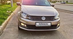 Volkswagen Polo 2018 года за 5 200 000 тг. в Шымкент – фото 2