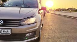 Volkswagen Polo 2018 года за 5 200 000 тг. в Шымкент – фото 4