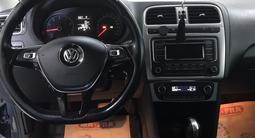 Volkswagen Polo 2015 года за 4 700 000 тг. в Алматы – фото 4