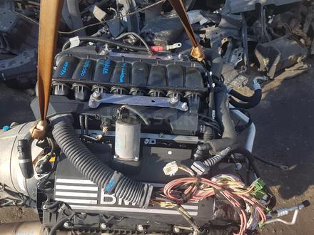 Двигатель на БМВ е60 550i n62b48b за 1 000 000 тг. в Алматы – фото 2