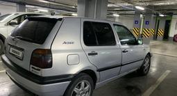 Volkswagen Golf 1995 года за 1 200 000 тг. в Нур-Султан (Астана) – фото 4