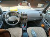 Hyundai Accent 2002 года за 1 200 000 тг. в Кызылорда – фото 4