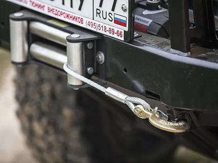 Бампер РИФ передний УАЗ Хантер усиленный с защитной дугой за 154 000 тг. в Алматы – фото 2
