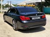 BMW 740 2009 года за 7 000 000 тг. в Алматы – фото 4