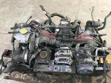 Двигатель ej20g turbo Subaru Forester sf5/legacy Bg bd за 240 000 тг. в Алматы