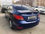 Hyundai Solaris 2016 года за 3 400 000 тг. в Нур-Султан (Астана) – фото 4