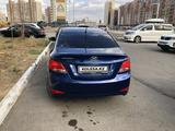 Hyundai Solaris 2016 года за 3 400 000 тг. в Нур-Султан (Астана) – фото 5