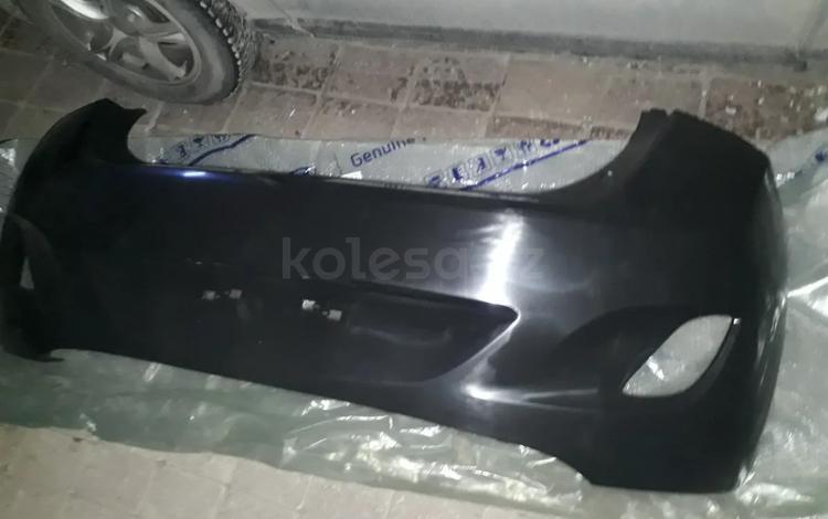 Бампер задний Hyundai i30 GD (2012-2015) оригинал 86611a5000 за 35 000 тг. в Нур-Султан (Астана)