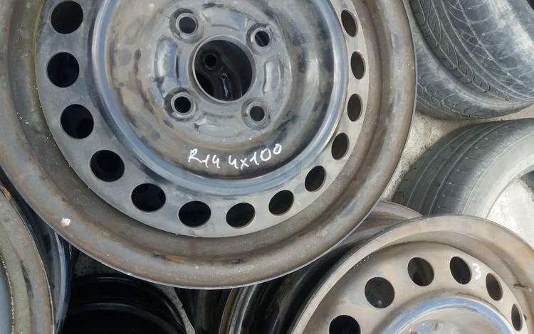 Диски железо 4*100r 14 за 5 000 тг. в Семей