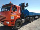 КамАЗ  Седельный тягач Камаз 43118 с КМУ ИМ 240-04 2020 года за 44 400 000 тг. в Атырау – фото 4
