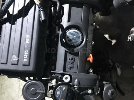 Контрактный двигатель шкода рапид 1.6 BTS за 350 000 тг. в Семей