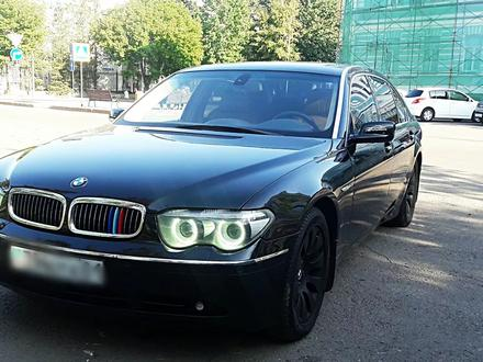BMW 760 2004 года за 5 800 000 тг. в Нур-Султан (Астана) – фото 8