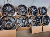 Новые диски R18 с резиной на Mercedes все модели AMG за 180 000 тг. в Алматы – фото 2