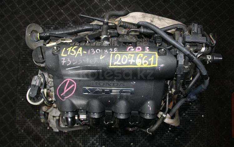 Двигатель HONDA L15A Контрактная| Доставка ТК, Гарантия за 94 620 тг. в Новосибирск