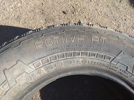 """Шины 245/75 R17 — """"Nokian Rotiiva AT"""" (Финляндия), летние, в хоро за 50 000 тг. в Нур-Султан (Астана) – фото 10"""