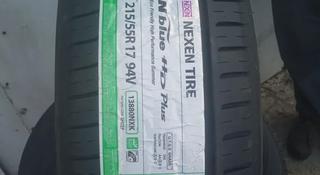 215/55/17 nexen n-blue hd plus за 23 000 тг. в Алматы
