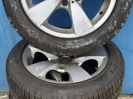 Диски с резиной BMW е60 215/55/r17 за 180 000 тг. в Петропавловск